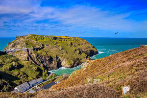 Tintagel, Cornwall, residential landscape photography worksops, Dioramadays