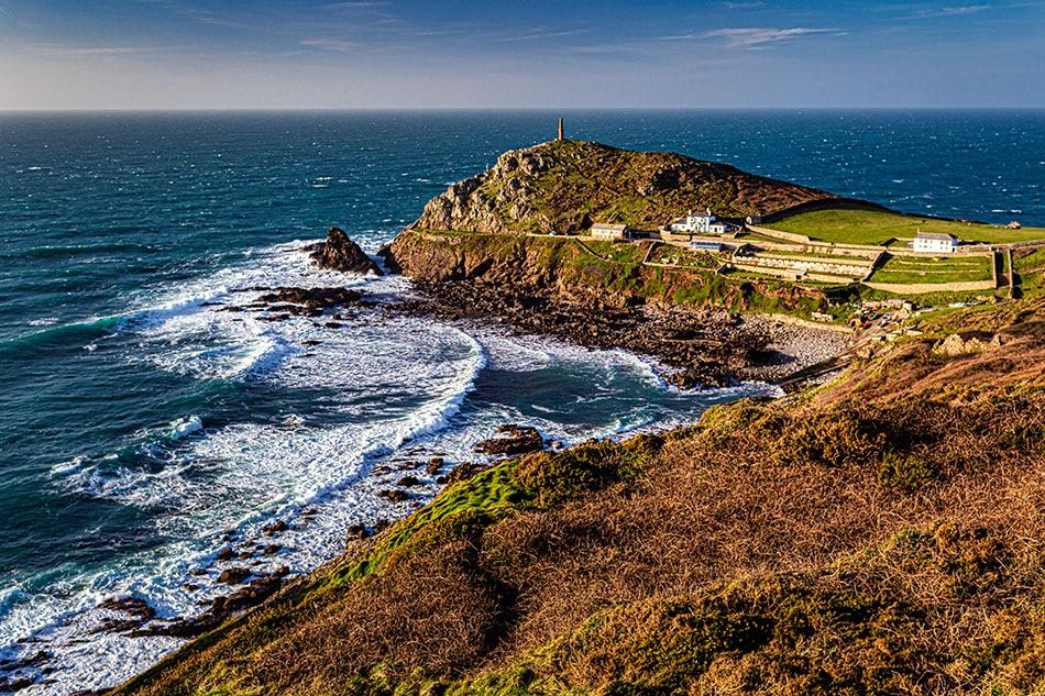 Cape Cornwall, UK. Photography Hoiday UK