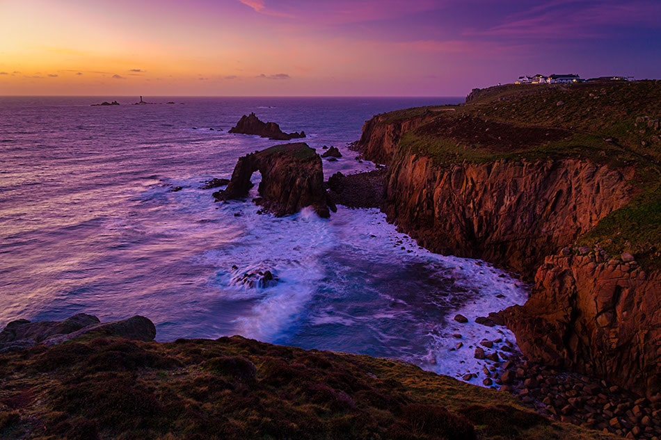 Cornwall Photography Holiday Tour Workshops Lands End