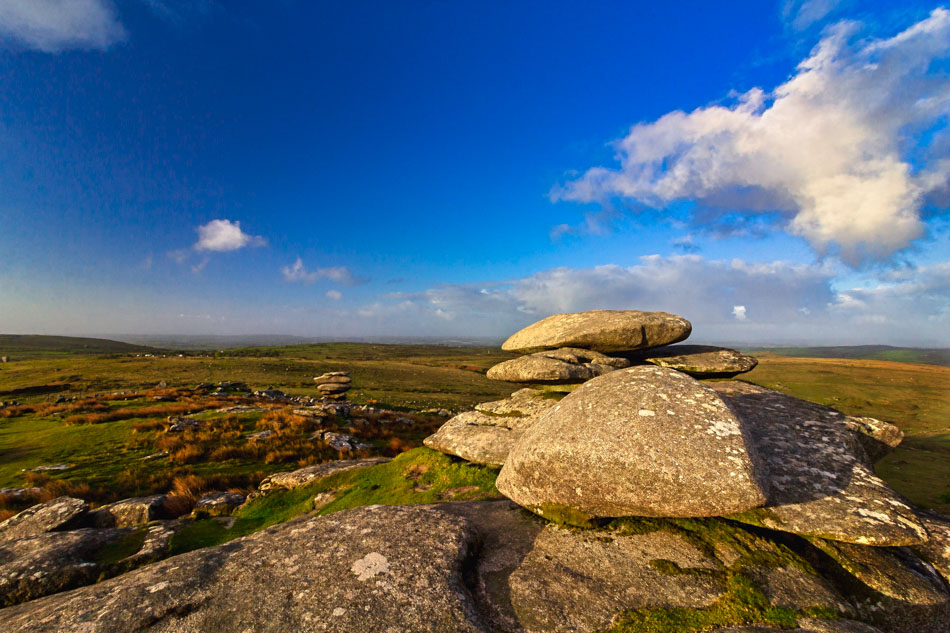 Stowes Hill. Bodmin Moor