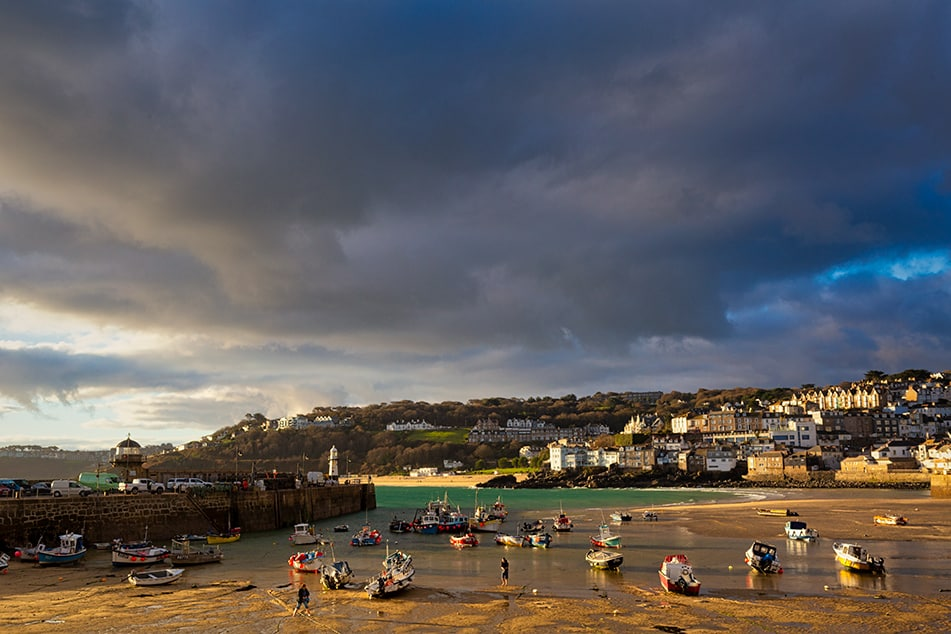 St Ives Cornwall Harbour